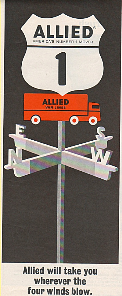Allied  Van Lines ad 1965 (Image1)