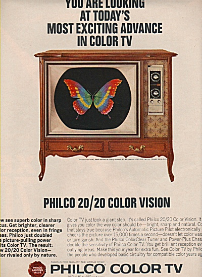 Philco color TV ad 1965 (Image1)