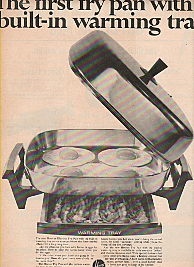 Hoover Fry Pan Ad 1966
