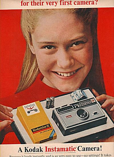 Kodak instamatic camera ad 1966 (Image1)