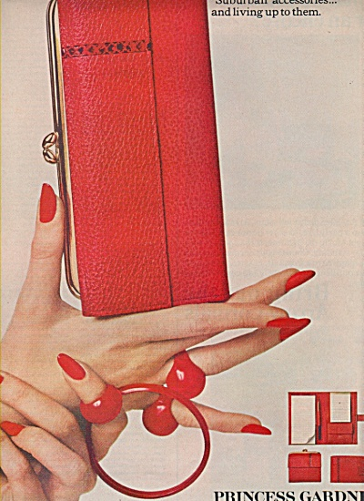 Princess Gardner accessories ad 1966 (Image1)