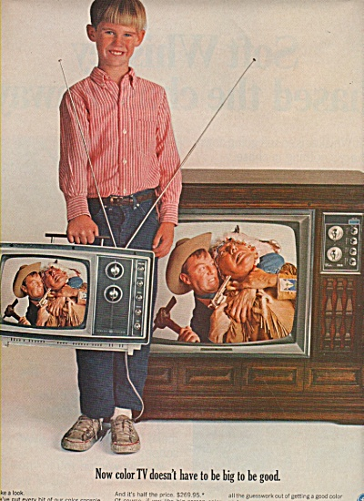 General Electtic television ad 1966 (Image1)