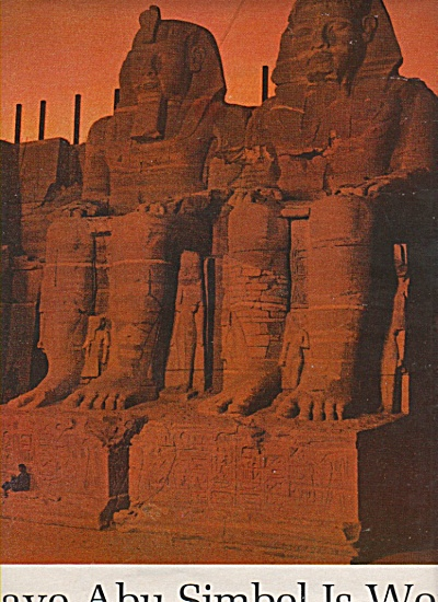 The Race to same ABU SIMBEL  is won - 1966 (Image1)
