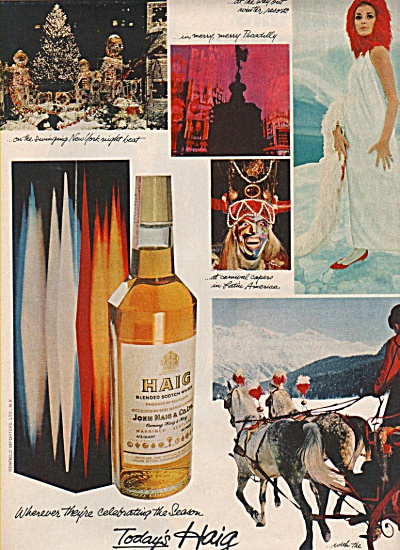 Haig blended scotch whisky ad 1966 (Image1)