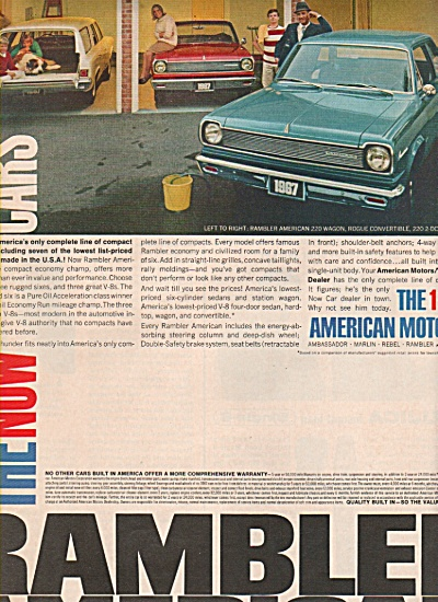 Rambler American  ad  for 1967 (Image1)