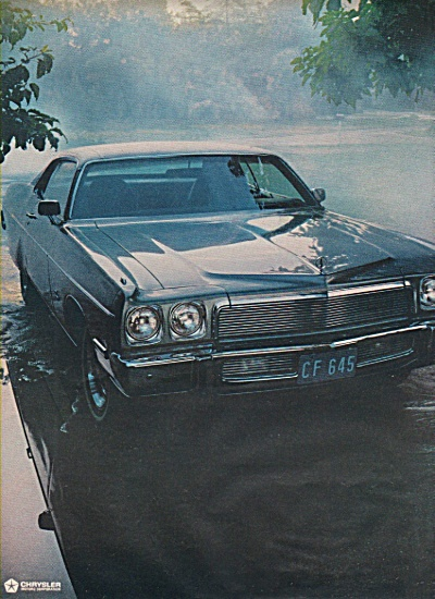 Plymouth Fury Ad 1972