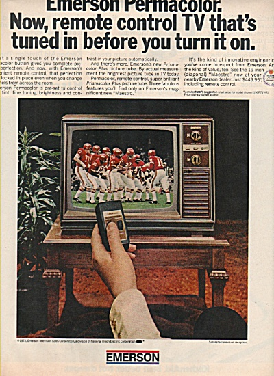 Emerson colored television ad 1972 (Image1)