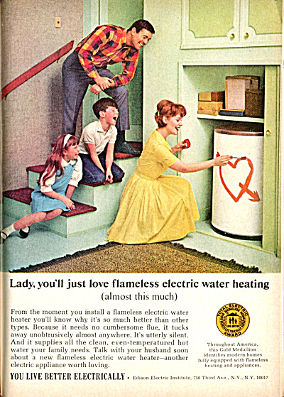 1966 Edison Electric Inst. LADY YOU LL LOVE THIS AD HW  (Image1)