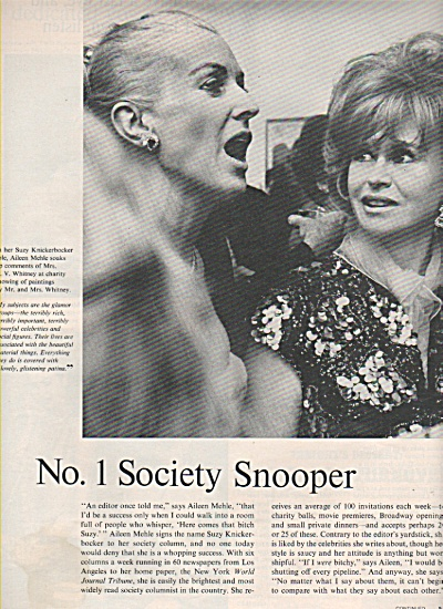 suzy knickerbocker, SOCIETY column writer 1966 (Image1)