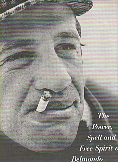 1966 JEAN-PAUL BELMONDO  Story Expose 8 Pages + Cover (Image1)