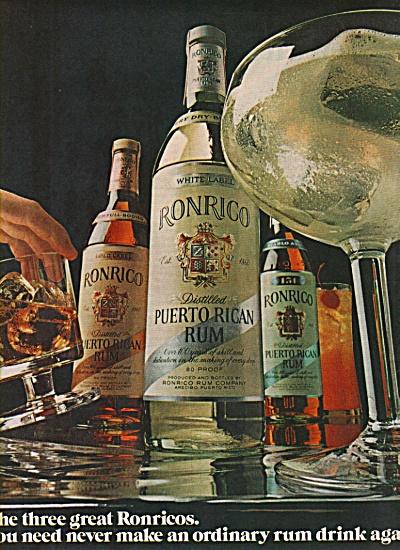 Ronrico puerto Rican rum ad 1972 (Image1)