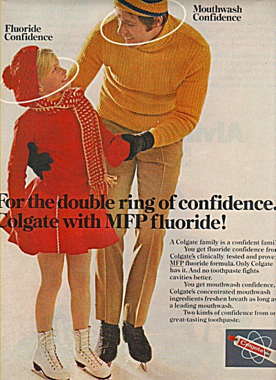 Colgate tooth paste ad 1972 (Image1)