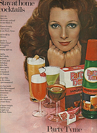 Party Tyme cocktail mixes ad 1972 (Image1)