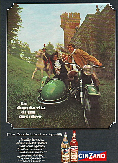 Cinzano drink - Italy ad 1968 (Image1)
