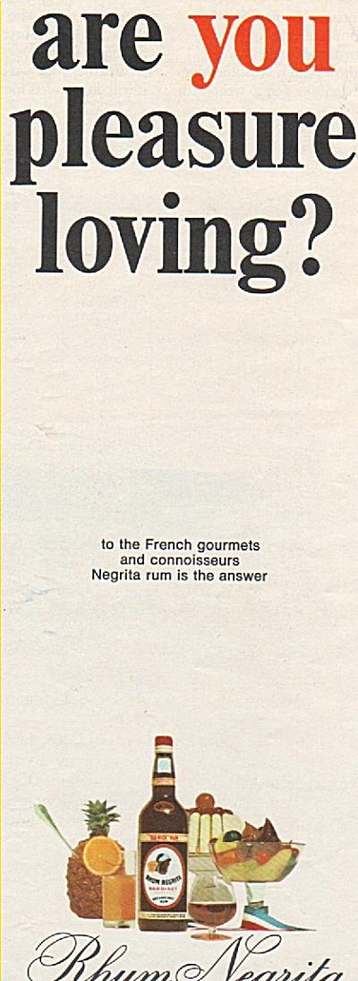 Rhum Negrita ad 1968 (Image1)