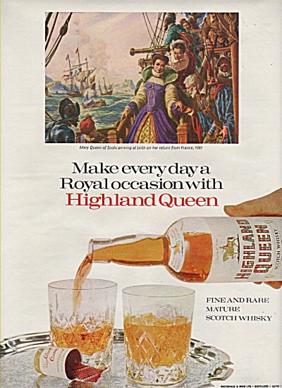 Highland Queen ad 1968 (Image1)