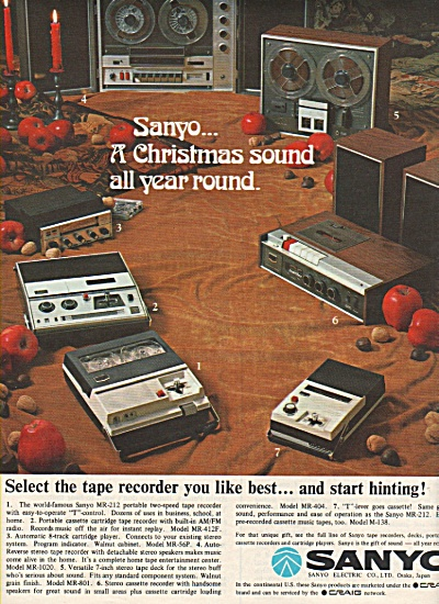 Sanyo electric co., ad 1968 (Image1)