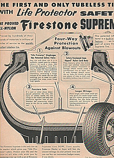 Firestone supreme tire ad (Image1)