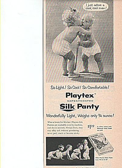 Playtex silk panty ad (Image1)