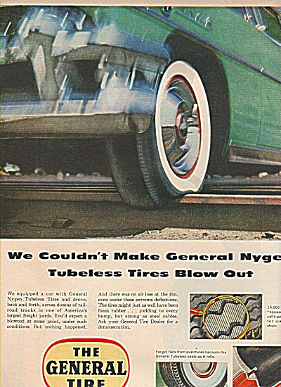 The General Tire Ad 1955