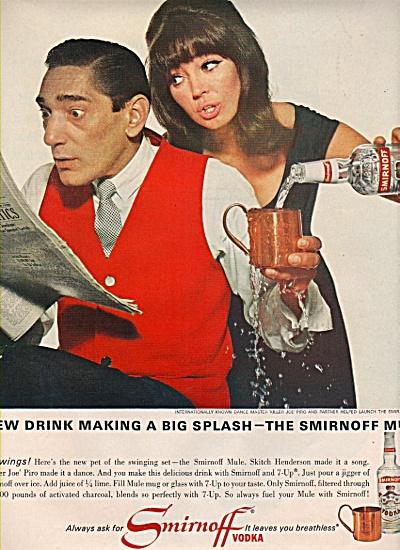 Smirnoff  vodka ad  - 1965 DOLORES HAWKINS (Image1)