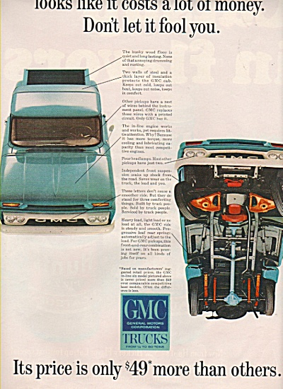 GMC trucks ad 1965 (Image1)
