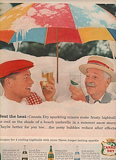 Canada Dry ad 1957 (Image1)