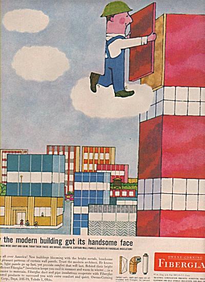 Owens-Corning fiberglas - ad 1958 (Image1)