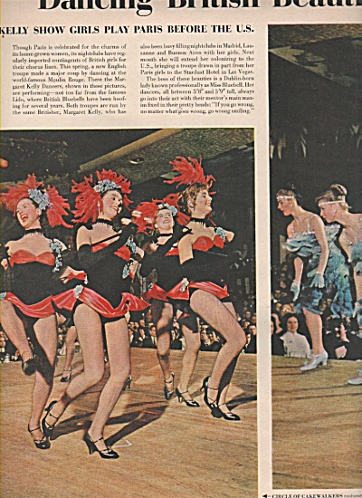 Dancing British beauties are Fascinating France 1958 (Image1)