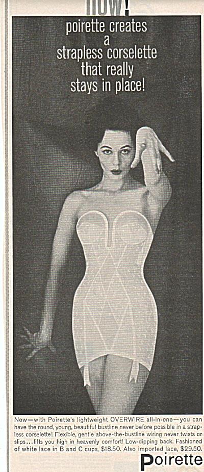Poirette corselette ad 1958 (Image1)
