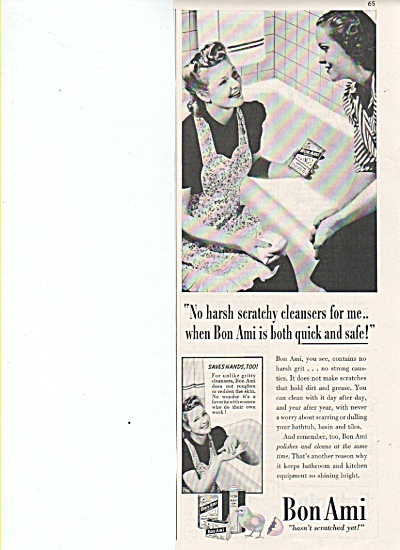 Bon Ami cleanser ad 1942 (Image1)