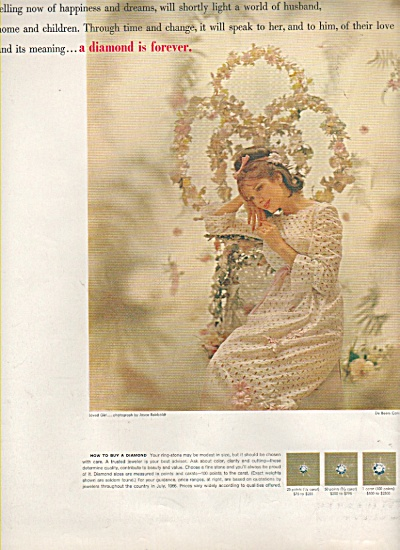 DeBeer diamonds ad 1966 (Image1)
