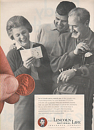 Lincoln National life Insurance company ad 1966 (Image1)