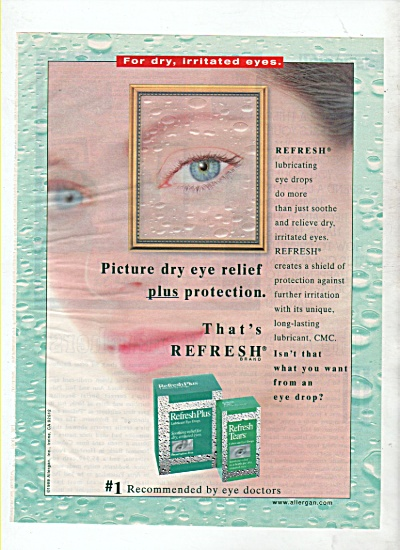 Refresh plus eye drops ad 1999 (Image1)
