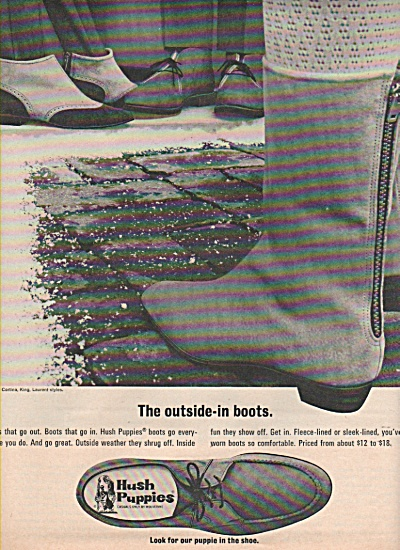 Hugh Puppies shoes ad 1966 (Image1)