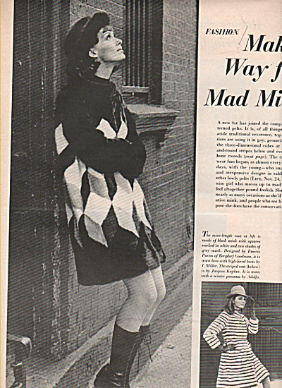 Fashion: Milks - model spread -1966 (Image1)