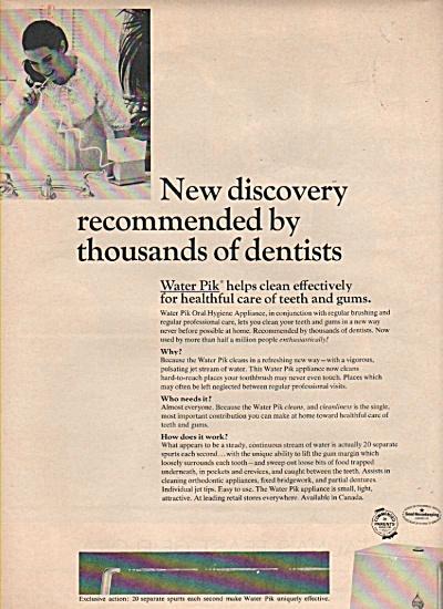Water Pik  ad 1966 (Image1)