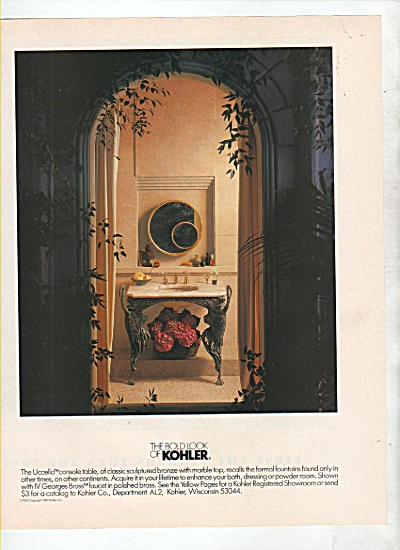 The bold look of Kohler ad 1988 (Image1)