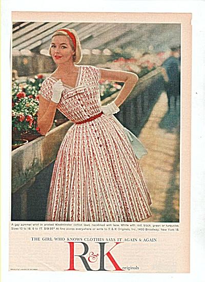 R & K clothes ad 1958 (Image1)