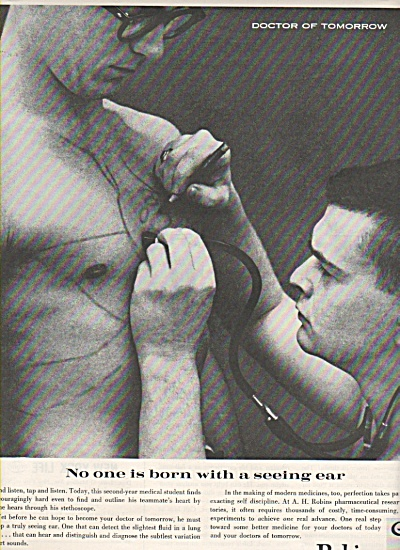 Robins pharmaceutical research ad 1962 (Image1)