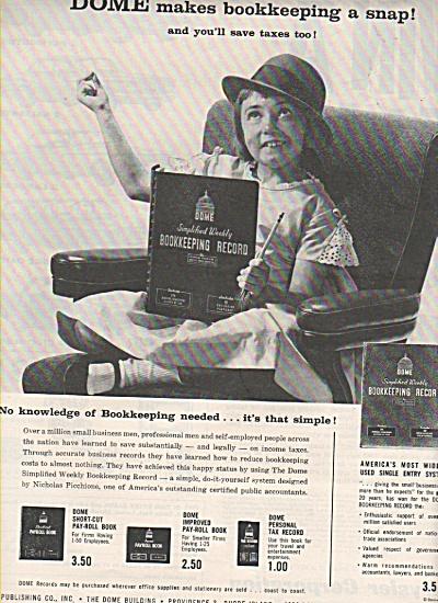 Dome publishing Co., ad 1962 (Image1)