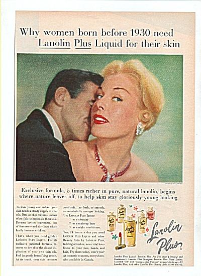 Lanolin plus liquids ad 1958 (Image1)