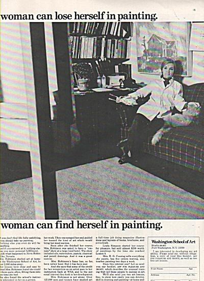 Washington School of Art ad 1968 (Image1)