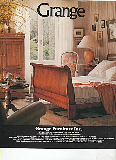 Grange Furniture Inc. ad 1988 (Image1)