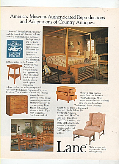 Lane furniture ad 1988 (Image1)