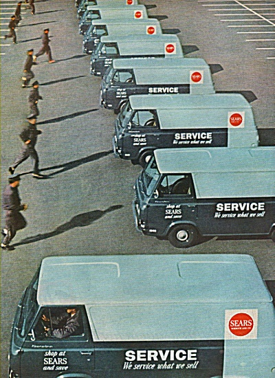 sears Service trucks ad 1962 (Image1)