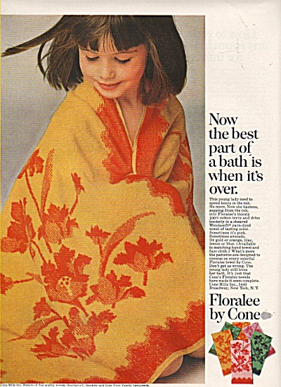 Floralee by Cone ad  1968 (Image1)