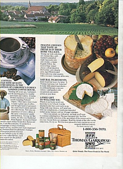 Thomas Garraway Ltd., ad 1988 (Image1)