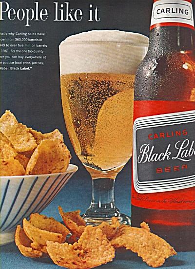 Carling Black label beer ad 1962 (Image1)
