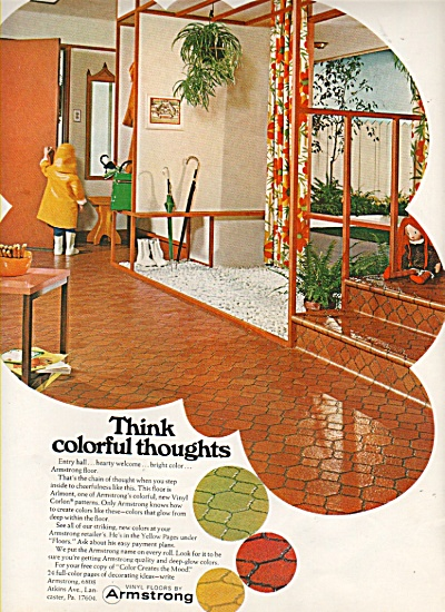 Armstrong vinyl floors ad 1968 (Image1)